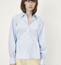 Just Female Aurora blouse blue