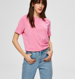 Selected Femme Ella top pink