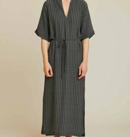 Basic apparel Elly dress black print