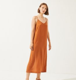 Cus Junonia dress brick