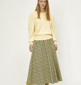 Just Female Dove skirt yellow print