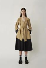 Just Female Ellie Contrast Dress beige