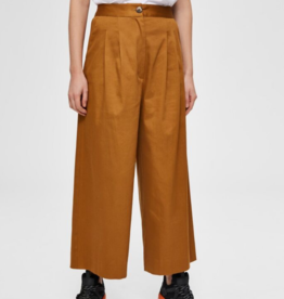 Selected Femme Milla Wide Pants brown