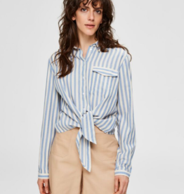 Selected Femme Zenia LS Blouse Stripes