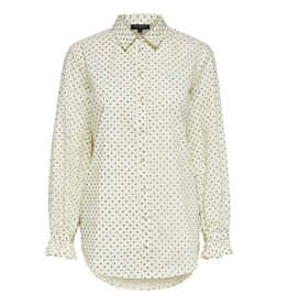 Selected Femme Nova blouse beige dots
