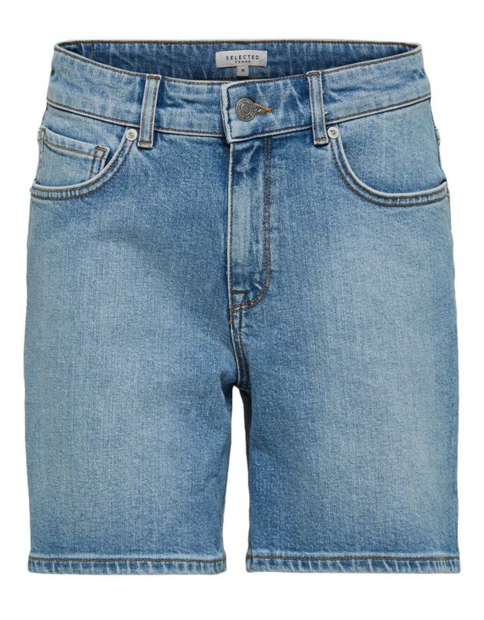Selected Femme Silla Denim Shorts