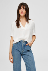 Selected Femme Ella blouse white