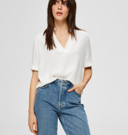 Selected Femme Ella blouse white