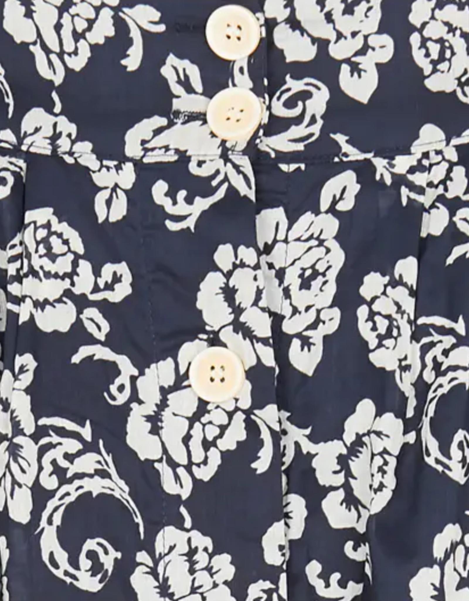 Skirt navy floral
