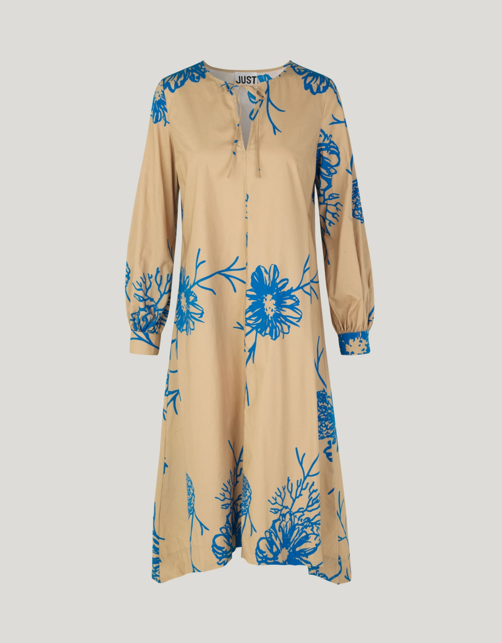 Just Female Marty Dress beige