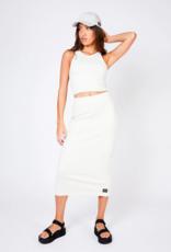 Dr Denim Tabitha Skirt Off White
