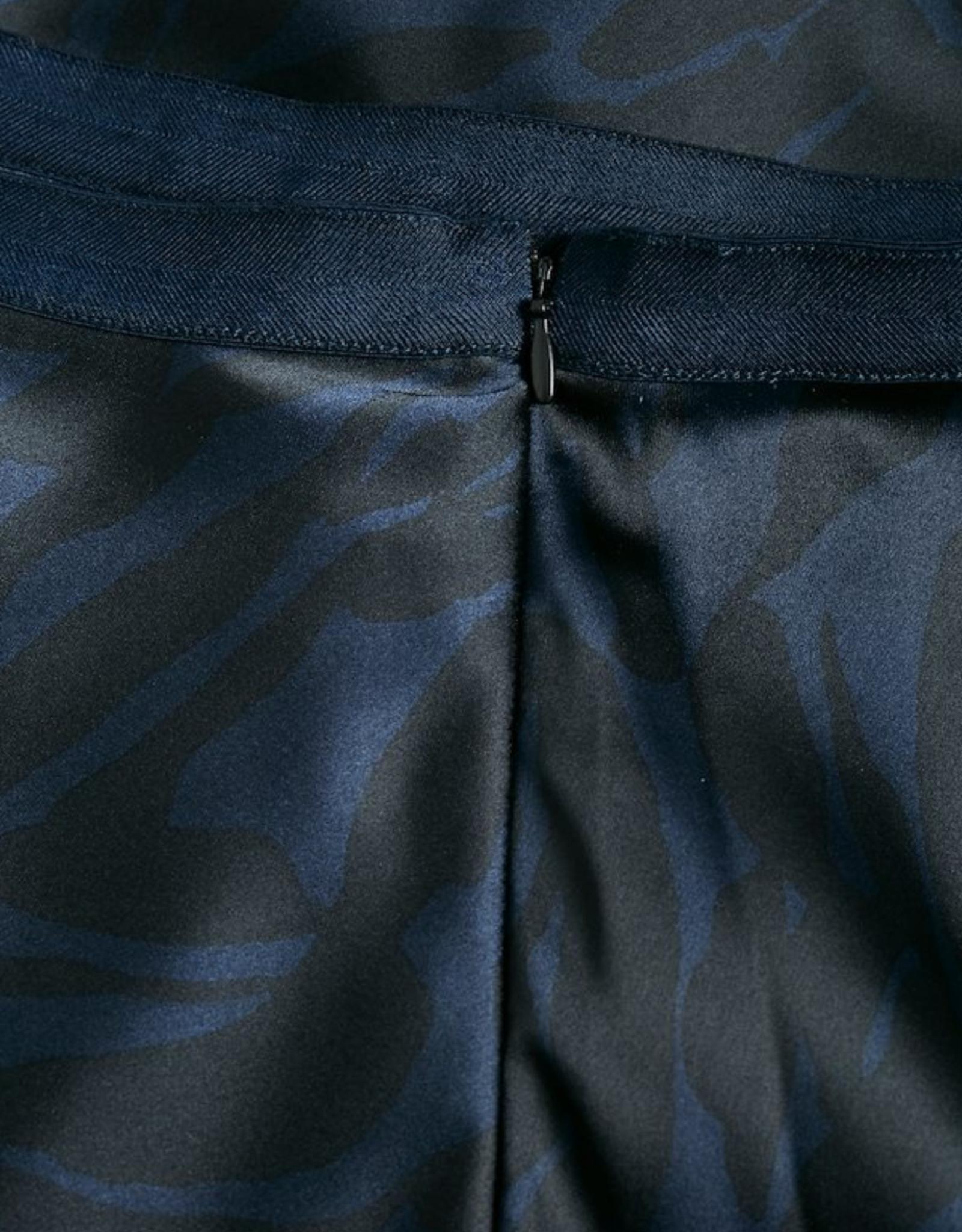 Soaked in Luxury Edessa skirt blue
