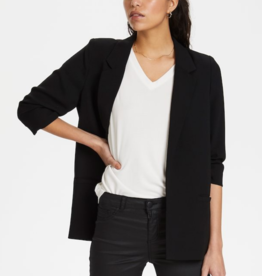 Soaked in Luxury Shirley blazer Black