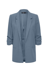 Soaked in Luxury Shirley Blazer blue
