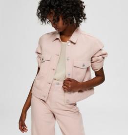 Selected Femme Elli Denim Jacket Pink