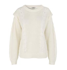 Marin knit white