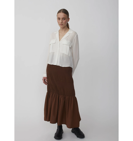 Just Female Lucille skirt Brown