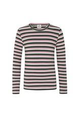 Talika LS Green/Pink Stripe