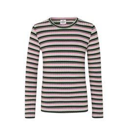 Mads Norgaard Talika LS Green/Pink Stripe