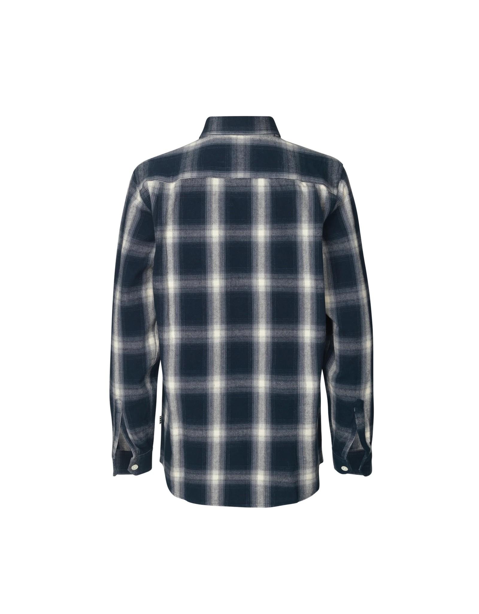 Svantino Blouse Checkered Black/White