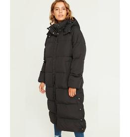 Ela Slit coat black