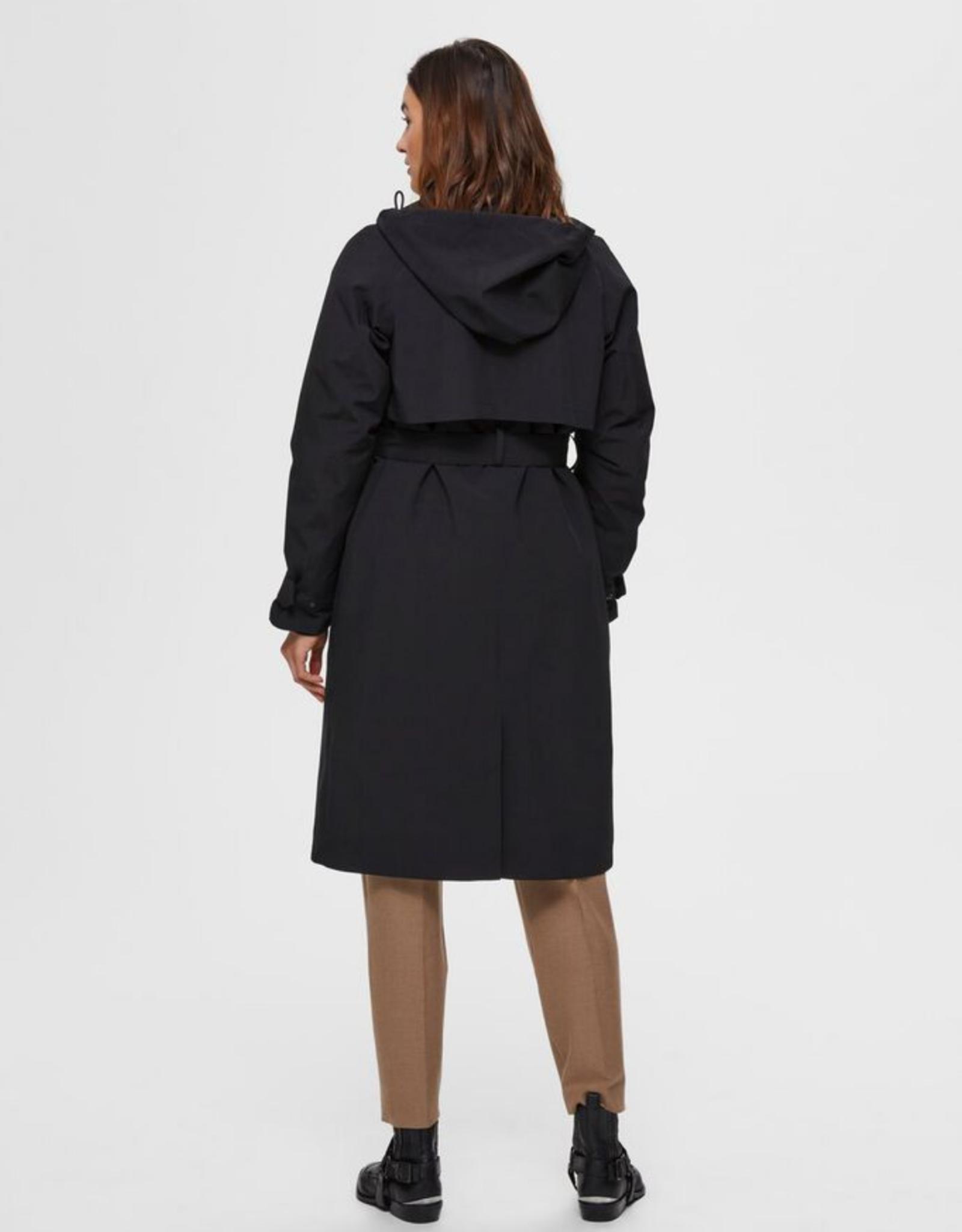 Selected Femme Helen coat  Black