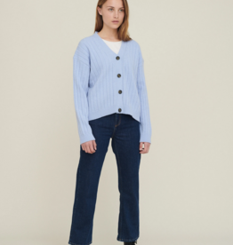 Basic apparel Line Cardigan Blue