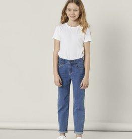 Rose Mom Jeans blue