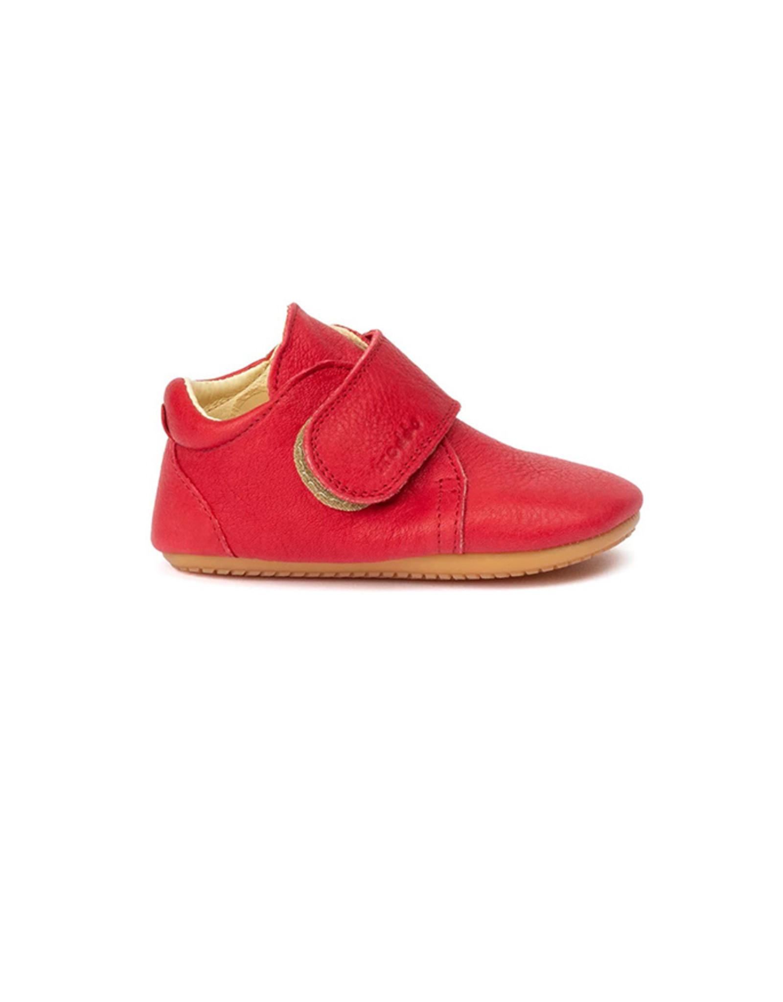 Froddo prewalker shoes red