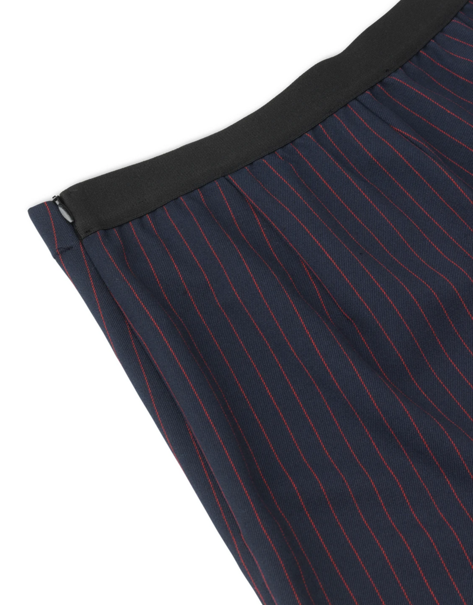 Mads Norgaard Prialla Trousers Navy/Red stripe
