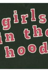 Girls in the hood Hoodie green