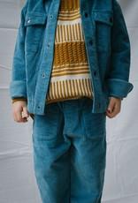 Ewan Corduroy Trainer blue