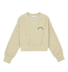 Sweat Velours beige