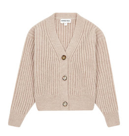 Dusty Knitted Cardigan  Pink