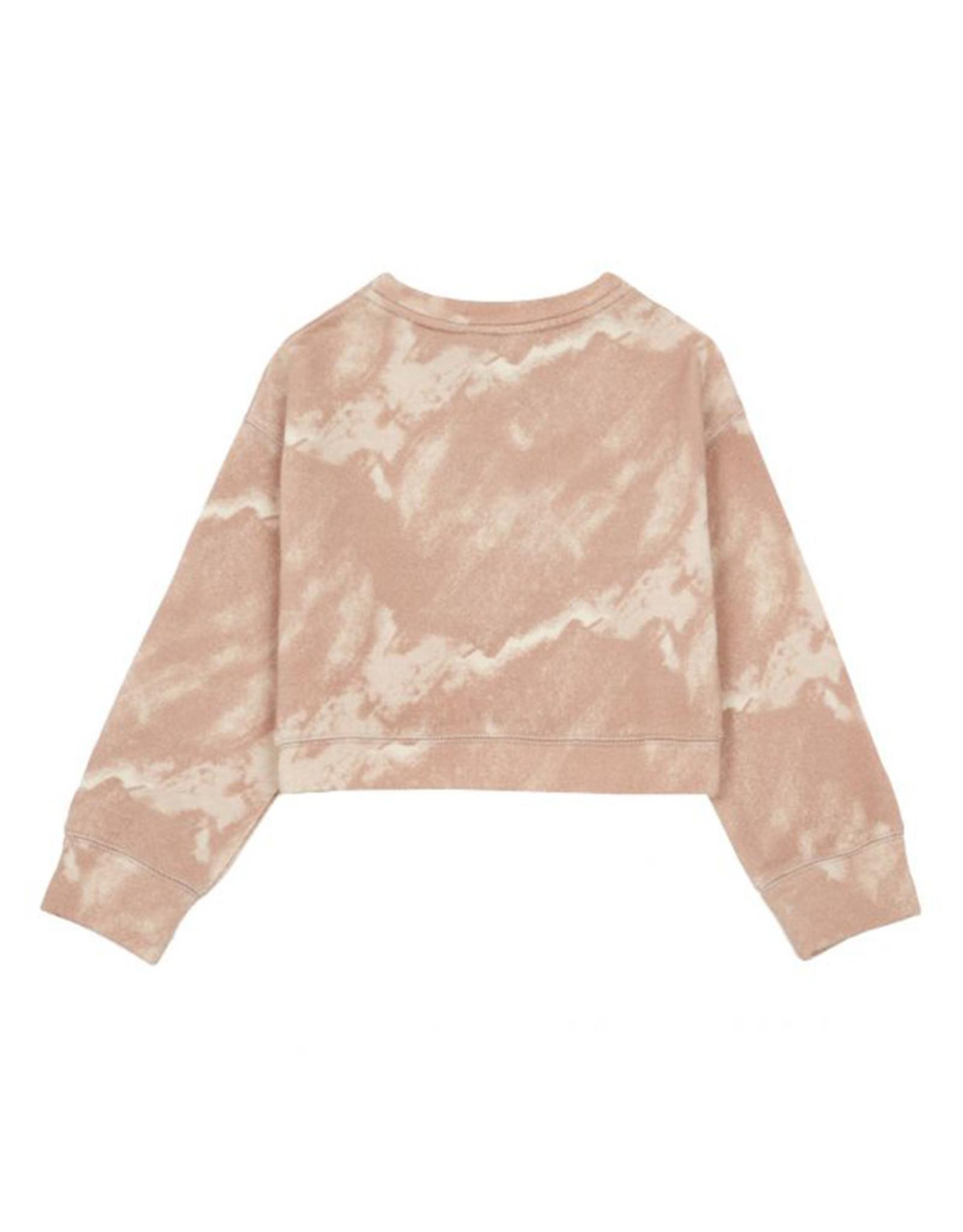 Tie Dye Sweat pink