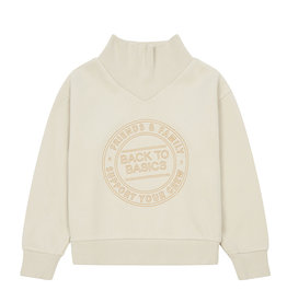 Your crew sweatshirt beige