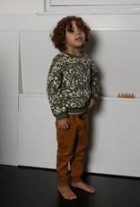 Leopard sweater olive rose