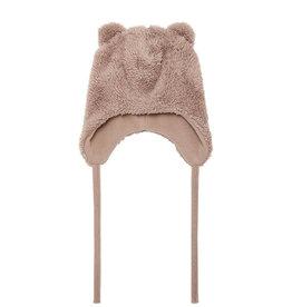 Melbel Teddy Hat Cinder