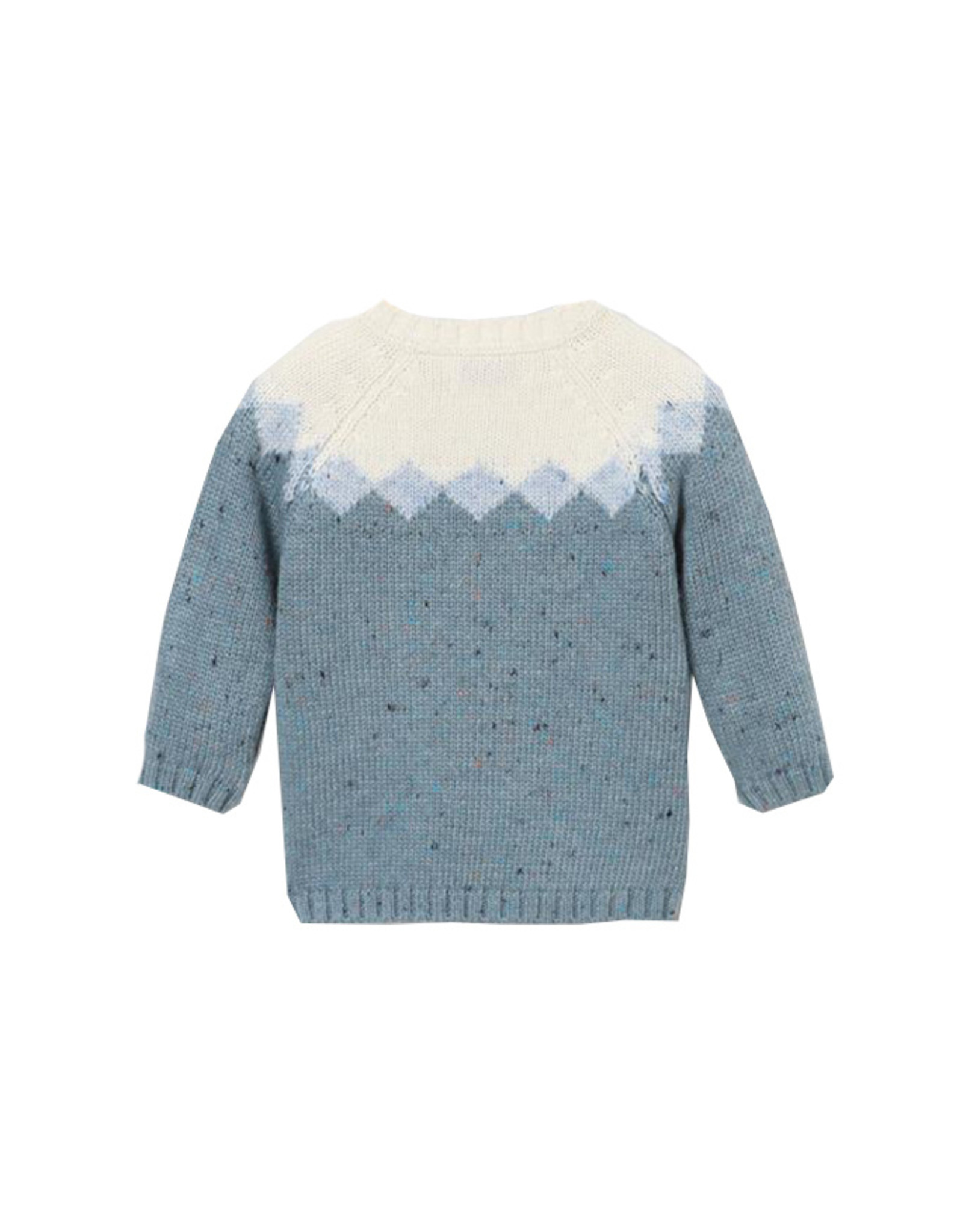 Cy Pull Blue/white
