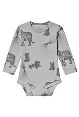 Body Animal Print Grey