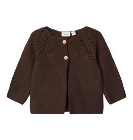 Osoni Cardigan Knit Brown