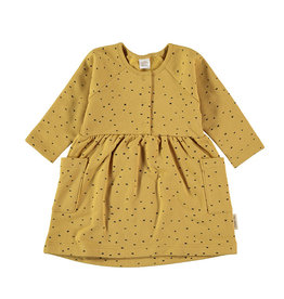Flannel Cata Dress Yellow