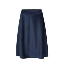 Mads Norgaard Stelly Skirt Blue Curduroy