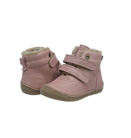 Shoes Velcro Fur Pink