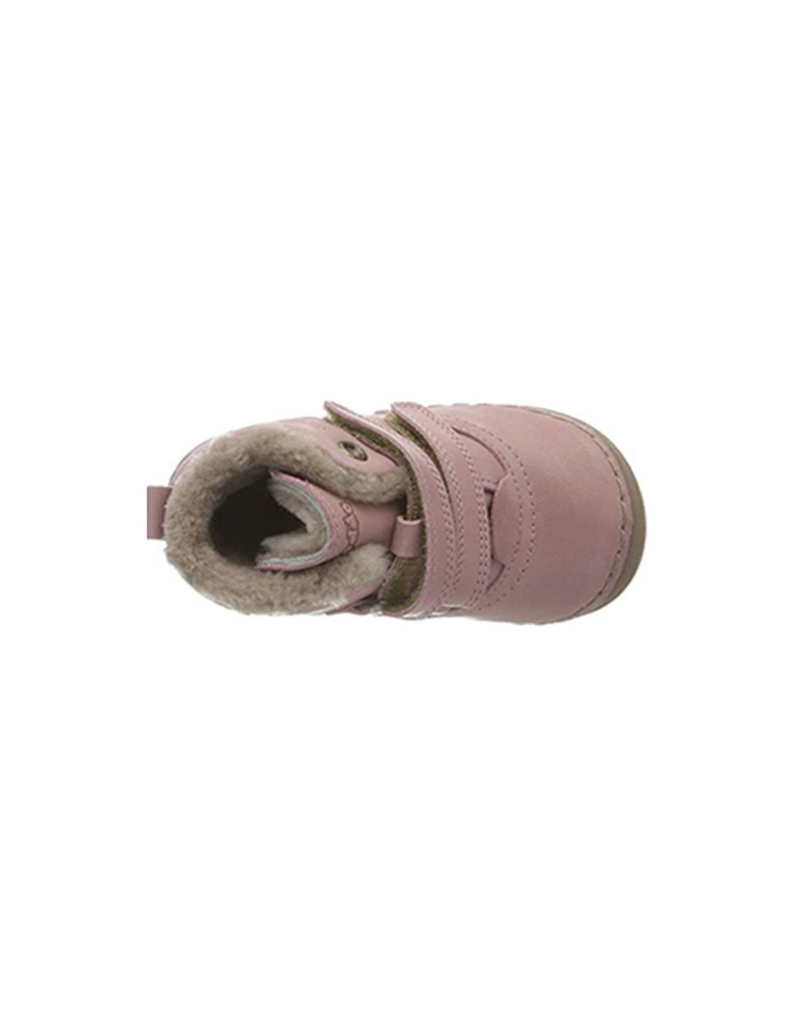 Shoes Velcro Fur Pink