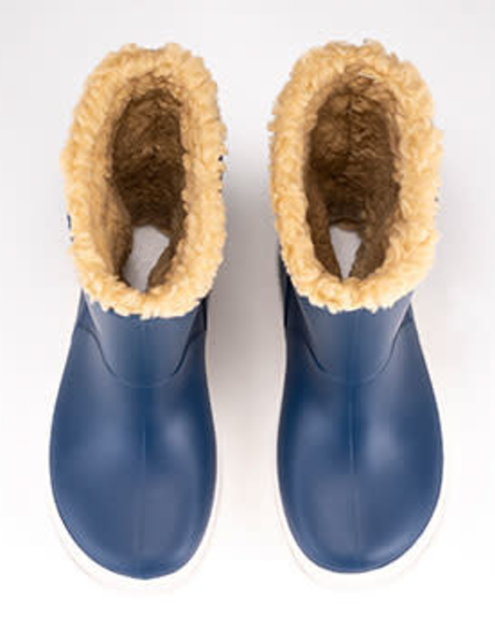 Splash Rainboots Fur Blue