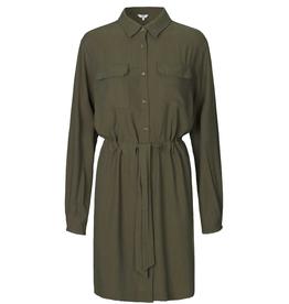 Makaila Dress Green/Brown
