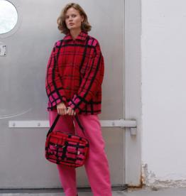 Cabsy Jacket Pink Check