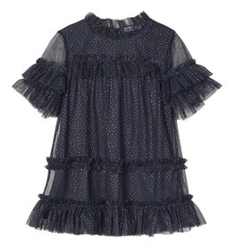 Ritty Dress Glitter Blue