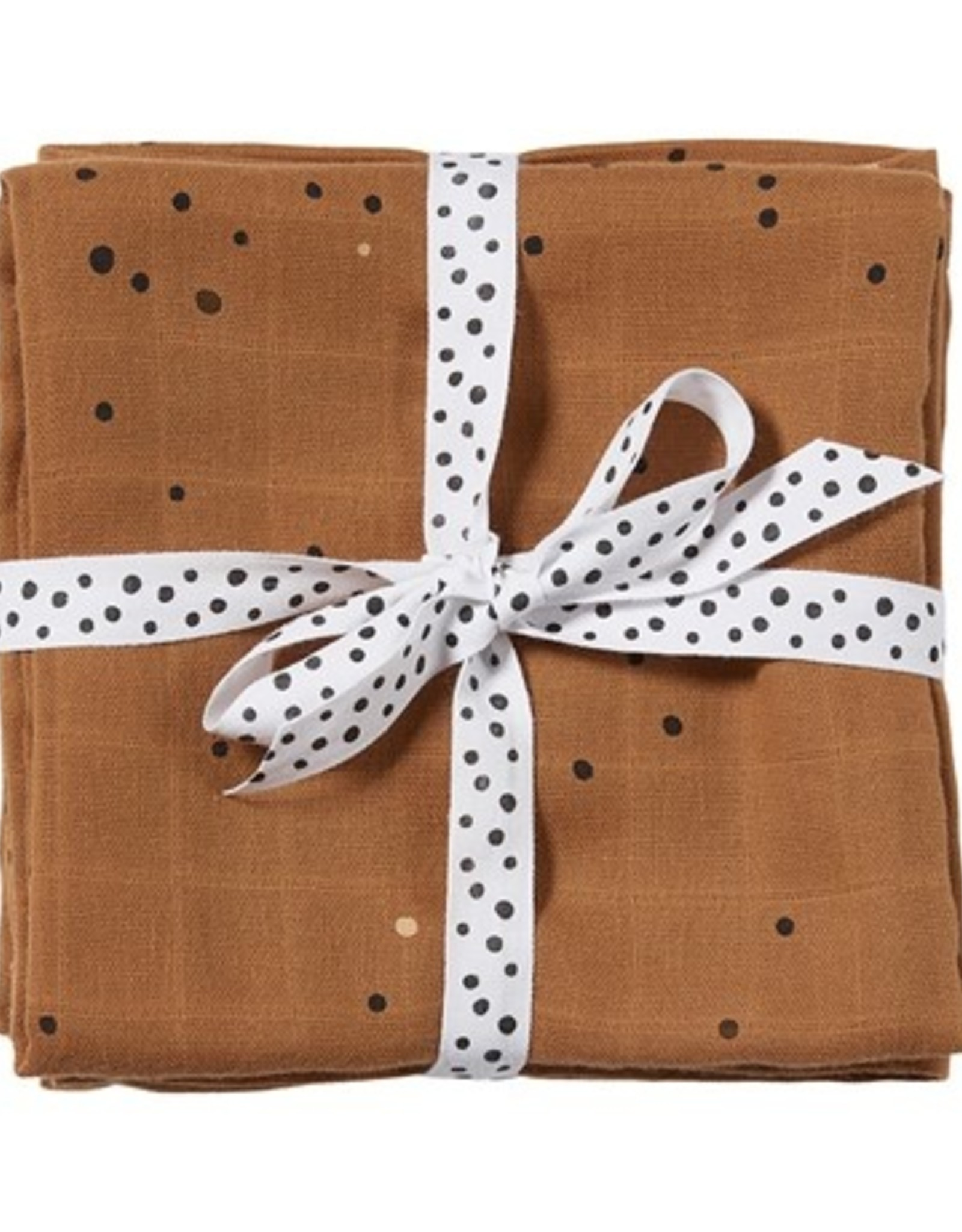 Swaddle 2 pack Dreamy Dots Mustard